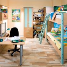 Dětské pokoje fotogalerie 016